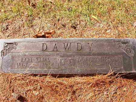 DAWDY, DORCUS URSULA - Dallas County, Arkansas | DORCUS URSULA DAWDY - Arkansas Gravestone Photos