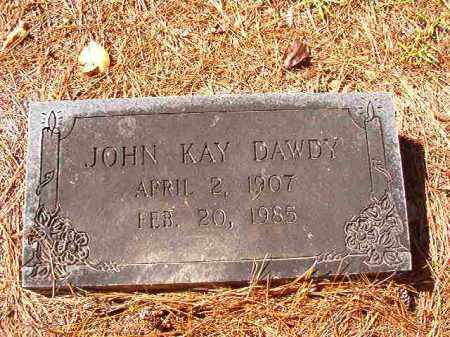 DAWDY, JOHN KAY - Dallas County, Arkansas   JOHN KAY DAWDY - Arkansas Gravestone Photos