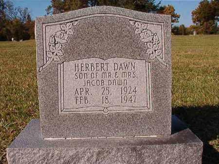 DAWN, HERBERT - Dallas County, Arkansas | HERBERT DAWN - Arkansas Gravestone Photos