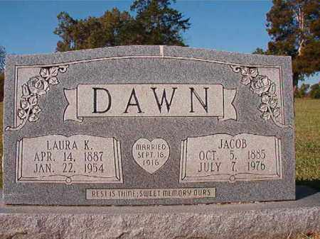 DAWN, LAURA KNIGHT - Dallas County, Arkansas | LAURA KNIGHT DAWN - Arkansas Gravestone Photos