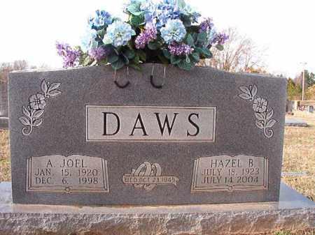 DAWS, HAZEL B - Dallas County, Arkansas | HAZEL B DAWS - Arkansas Gravestone Photos