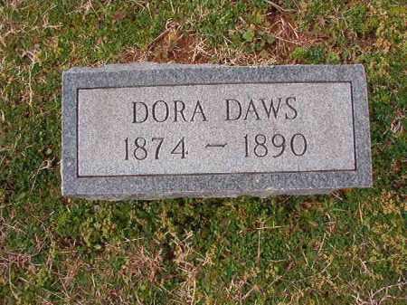 DAWS, DORA - Dallas County, Arkansas | DORA DAWS - Arkansas Gravestone Photos