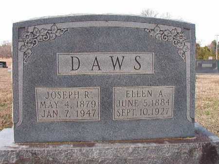 DAWS, JOSEPH R - Dallas County, Arkansas | JOSEPH R DAWS - Arkansas Gravestone Photos