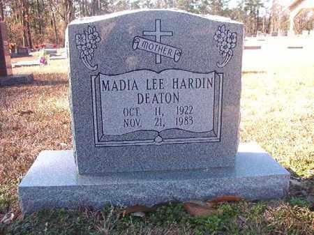 HARDIN DEATON, MADIA LEE - Dallas County, Arkansas   MADIA LEE HARDIN DEATON - Arkansas Gravestone Photos