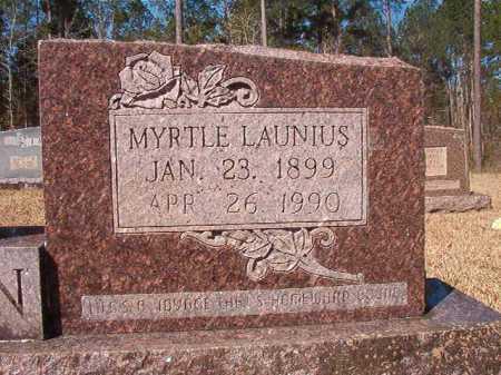 LAUNIUS DEDMAN, MYRTLE - Dallas County, Arkansas | MYRTLE LAUNIUS DEDMAN - Arkansas Gravestone Photos