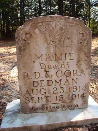 DEDMAN, MAMIE - Dallas County, Arkansas | MAMIE DEDMAN - Arkansas Gravestone Photos
