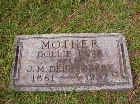 FURR DERRYBERRY, DOLLIE - Dallas County, Arkansas | DOLLIE FURR DERRYBERRY - Arkansas Gravestone Photos