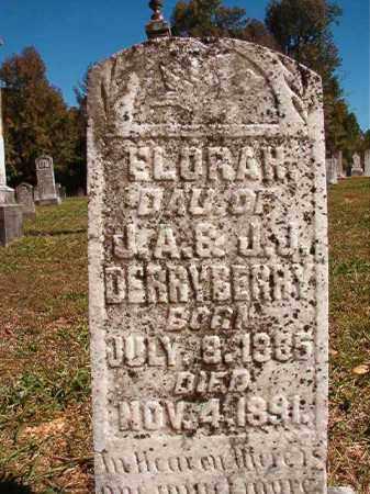 DERRYBERRY, ELORAH - Dallas County, Arkansas   ELORAH DERRYBERRY - Arkansas Gravestone Photos