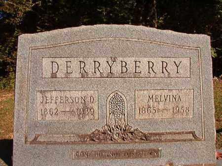 DERRYBERRY, JEFFERSON D - Dallas County, Arkansas | JEFFERSON D DERRYBERRY - Arkansas Gravestone Photos