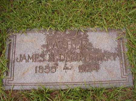 DERRYBERRY, JAMES M - Dallas County, Arkansas | JAMES M DERRYBERRY - Arkansas Gravestone Photos