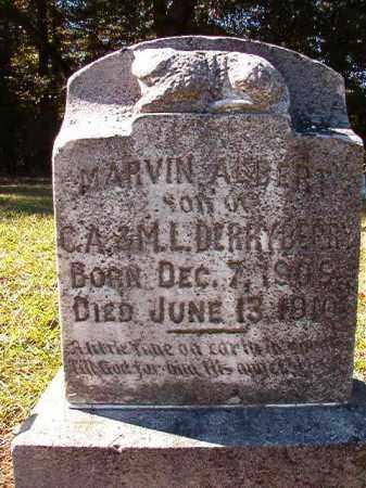 DERRYBERRY, MARVIN ALBERT - Dallas County, Arkansas | MARVIN ALBERT DERRYBERRY - Arkansas Gravestone Photos