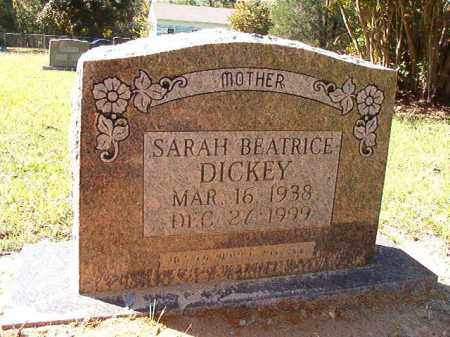 DICKEY, SARAH BEATRICE - Dallas County, Arkansas | SARAH BEATRICE DICKEY - Arkansas Gravestone Photos