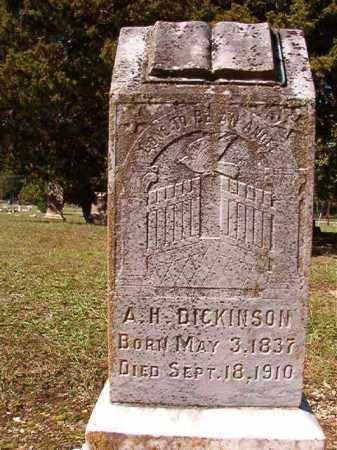 DICKINSON, A H - Dallas County, Arkansas | A H DICKINSON - Arkansas Gravestone Photos