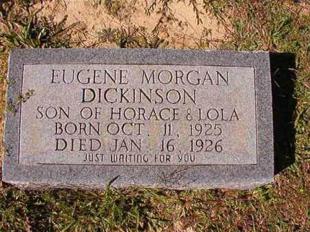 DICKINSON, EUGENE MORGAN - Dallas County, Arkansas | EUGENE MORGAN DICKINSON - Arkansas Gravestone Photos