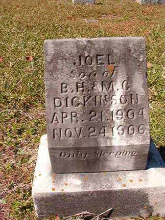 DICKINSON, JOEL - Dallas County, Arkansas | JOEL DICKINSON - Arkansas Gravestone Photos
