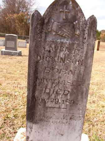 DICKINSON, LAURA F - Dallas County, Arkansas | LAURA F DICKINSON - Arkansas Gravestone Photos