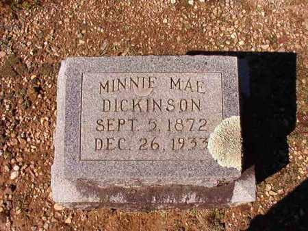 DICKINSON, MINNIE MAE - Dallas County, Arkansas | MINNIE MAE DICKINSON - Arkansas Gravestone Photos