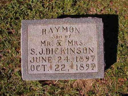 DICKINSON, RAYMON - Dallas County, Arkansas | RAYMON DICKINSON - Arkansas Gravestone Photos