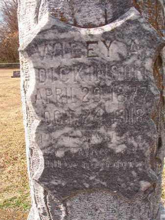 DICKINSON, WILEY A - Dallas County, Arkansas | WILEY A DICKINSON - Arkansas Gravestone Photos