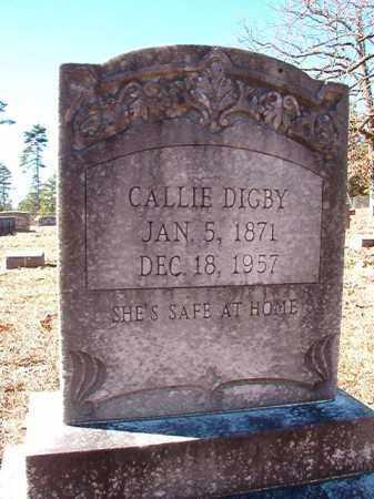 DIGBY, CALLIE - Dallas County, Arkansas   CALLIE DIGBY - Arkansas Gravestone Photos