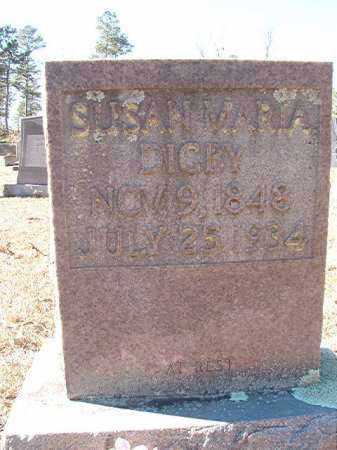 DIGBY, SUSAN MARIA - Dallas County, Arkansas | SUSAN MARIA DIGBY - Arkansas Gravestone Photos