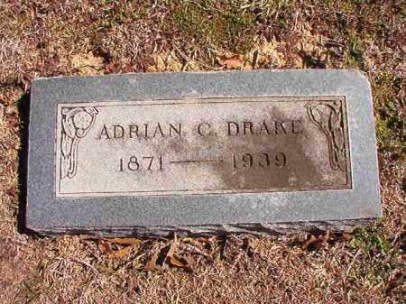 DRAKE, ADRIAN C - Dallas County, Arkansas   ADRIAN C DRAKE - Arkansas Gravestone Photos