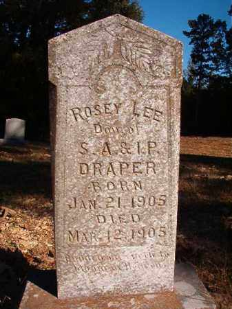 DRAPER, ROSEY LEE - Dallas County, Arkansas | ROSEY LEE DRAPER - Arkansas Gravestone Photos