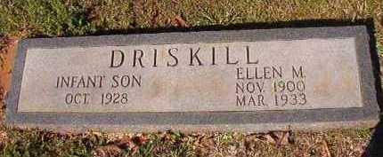 DRISKILL, ELLEN M - Dallas County, Arkansas | ELLEN M DRISKILL - Arkansas Gravestone Photos