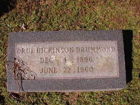 DICKINSON DRUMMOND, DRUE - Dallas County, Arkansas   DRUE DICKINSON DRUMMOND - Arkansas Gravestone Photos