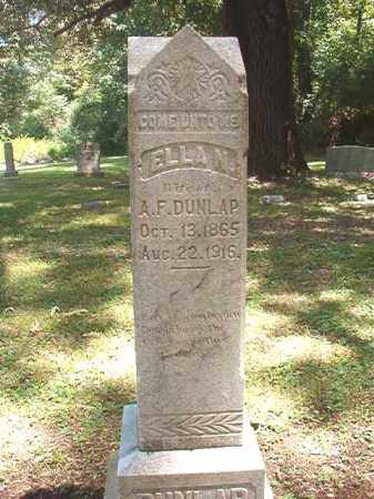 DUNLAP, ELLA N - Dallas County, Arkansas | ELLA N DUNLAP - Arkansas Gravestone Photos