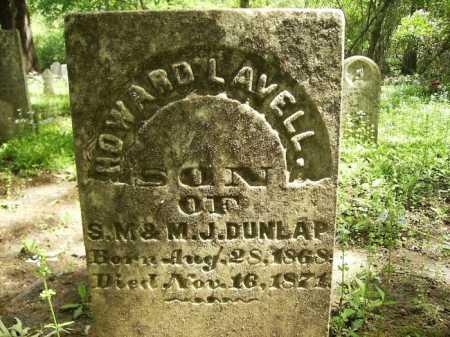 DUNLAP, HOWARD LAVELL - Dallas County, Arkansas   HOWARD LAVELL DUNLAP - Arkansas Gravestone Photos