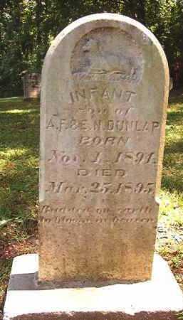 DUNLAP, INFANT SON - Dallas County, Arkansas | INFANT SON DUNLAP - Arkansas Gravestone Photos