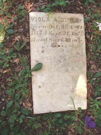 DUNLAP, VIOLA A - Dallas County, Arkansas   VIOLA A DUNLAP - Arkansas Gravestone Photos