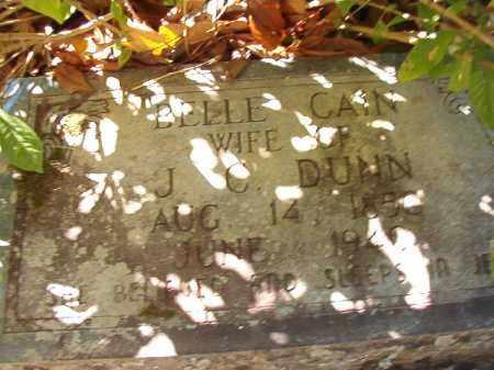 DUNN, BELLE - Dallas County, Arkansas | BELLE DUNN - Arkansas Gravestone Photos