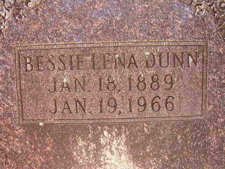 DUNN, BESSIE LENA - Dallas County, Arkansas   BESSIE LENA DUNN - Arkansas Gravestone Photos