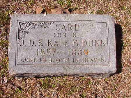 DUNN, CARL - Dallas County, Arkansas | CARL DUNN - Arkansas Gravestone Photos