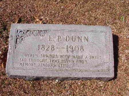 DUNN, E P - Dallas County, Arkansas   E P DUNN - Arkansas Gravestone Photos