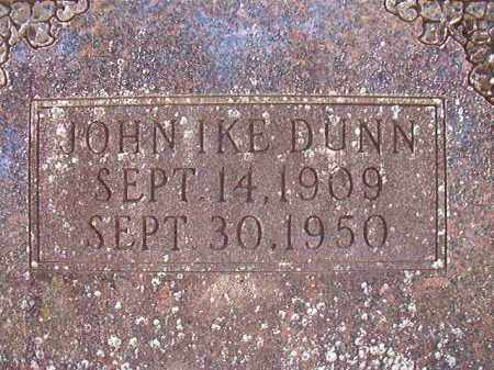DUNN, JOHN IKE - Dallas County, Arkansas | JOHN IKE DUNN - Arkansas Gravestone Photos