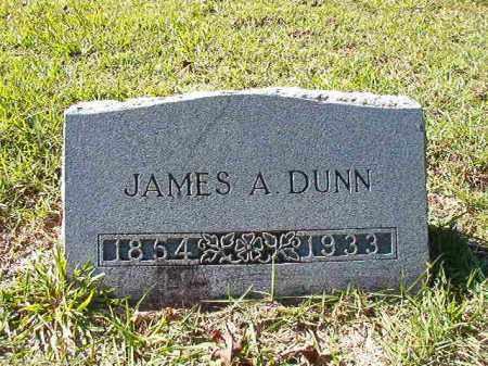 DUNN, JAMES A - Dallas County, Arkansas | JAMES A DUNN - Arkansas Gravestone Photos