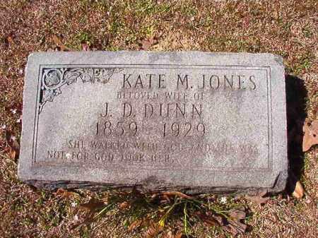 JONES DUNN, KATE M - Dallas County, Arkansas | KATE M JONES DUNN - Arkansas Gravestone Photos