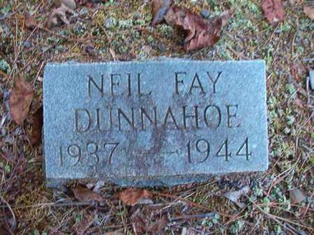 DUNNAHOE, NEIL FAY - Dallas County, Arkansas | NEIL FAY DUNNAHOE - Arkansas Gravestone Photos