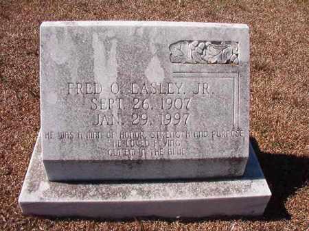 EASLEY, JR, FRED O - Dallas County, Arkansas | FRED O EASLEY, JR - Arkansas Gravestone Photos