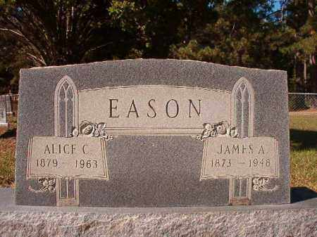 EASON, ALICE C - Dallas County, Arkansas | ALICE C EASON - Arkansas Gravestone Photos
