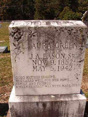 GREEN EASON, LAURA - Dallas County, Arkansas | LAURA GREEN EASON - Arkansas Gravestone Photos