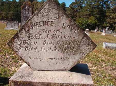 EASON, LAWRENCE LOVE - Dallas County, Arkansas | LAWRENCE LOVE EASON - Arkansas Gravestone Photos