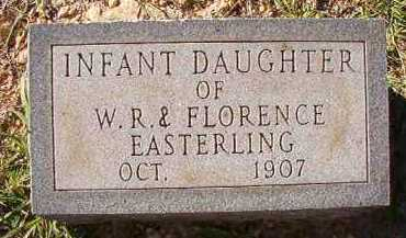 EASTERLING, INFANT DAUGHTER - Dallas County, Arkansas | INFANT DAUGHTER EASTERLING - Arkansas Gravestone Photos