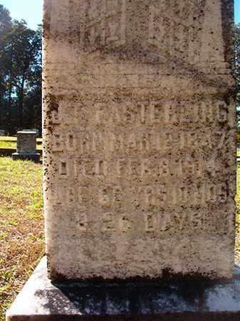 EASTERLING, J T - Dallas County, Arkansas | J T EASTERLING - Arkansas Gravestone Photos