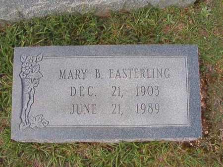 EASTERLING, MARY B - Dallas County, Arkansas | MARY B EASTERLING - Arkansas Gravestone Photos