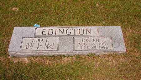 EDINGTON, TURA L - Dallas County, Arkansas | TURA L EDINGTON - Arkansas Gravestone Photos