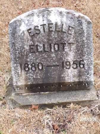ELLIOTT, ESTELLE - Dallas County, Arkansas   ESTELLE ELLIOTT - Arkansas Gravestone Photos